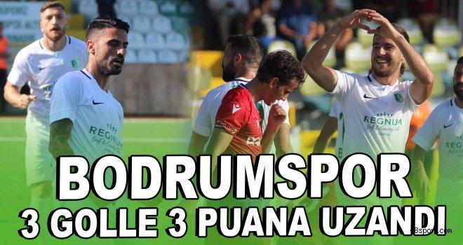 Bodrumspor 3 golle 3 puana uzandı!