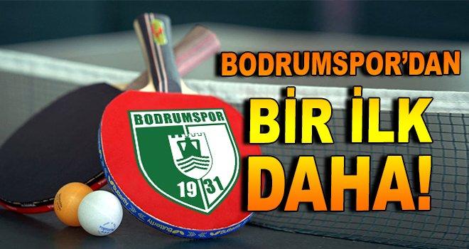 Bodrumspor'dan bir ilk daha