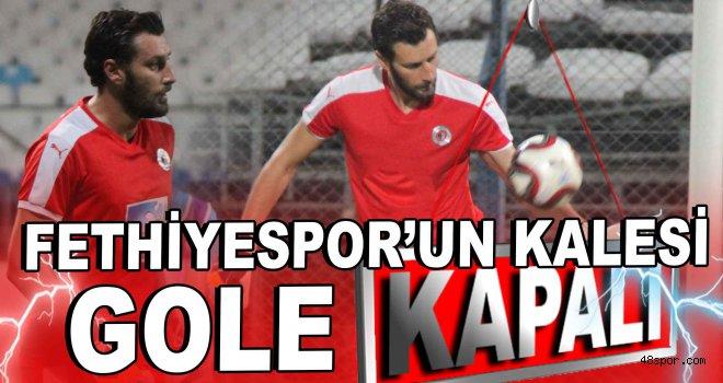 Fethiyespor'un kalesi gole kapalı!