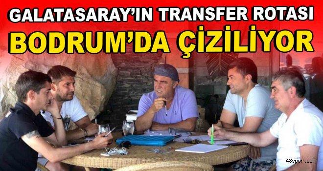 Galatasaray'ın transfer rotası Bodrum'da çiziliyor