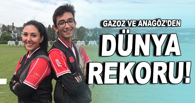 GAzoz ve Anagöz'den dünya rekoru!
