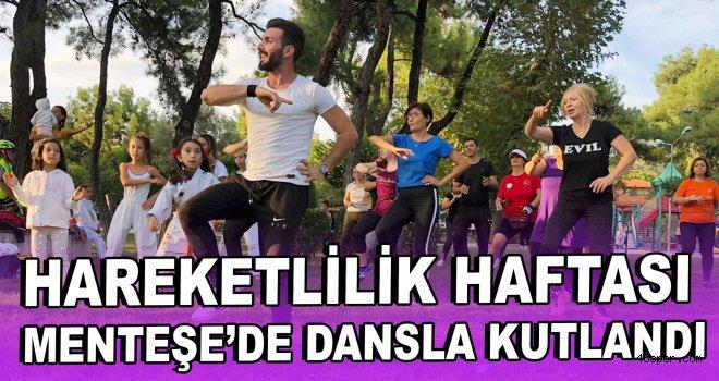 ''Hareketlilik Haftası'' Menteşe'de dansla kutlandı
