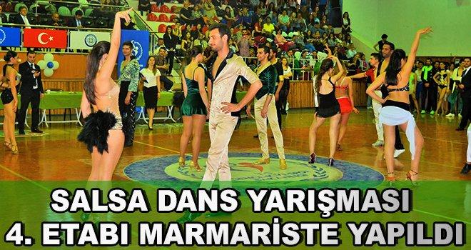 Salsa Dans Yarışması 4.Etabı Marmaris'te Yapıldı