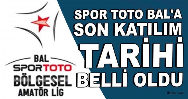 Spor Toto BAL'a son katılım tarihi belli oldu