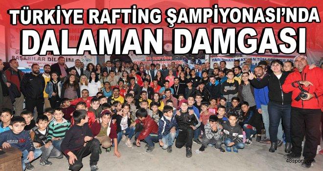 Türkiye Rafting Şampiyonası'nda Dalaman damgası!